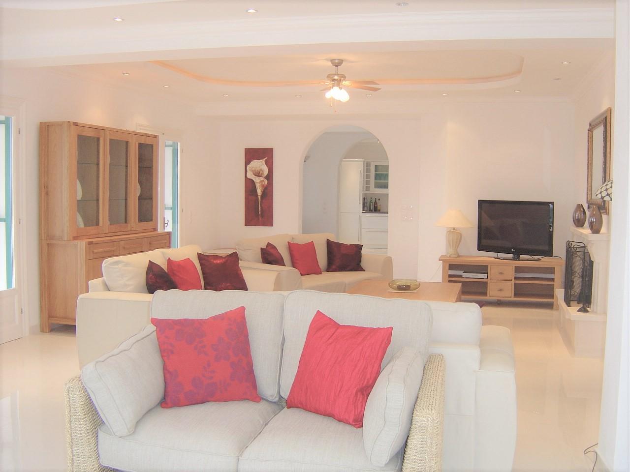 Sitting Room, Villa Andrea, Corfu Villa