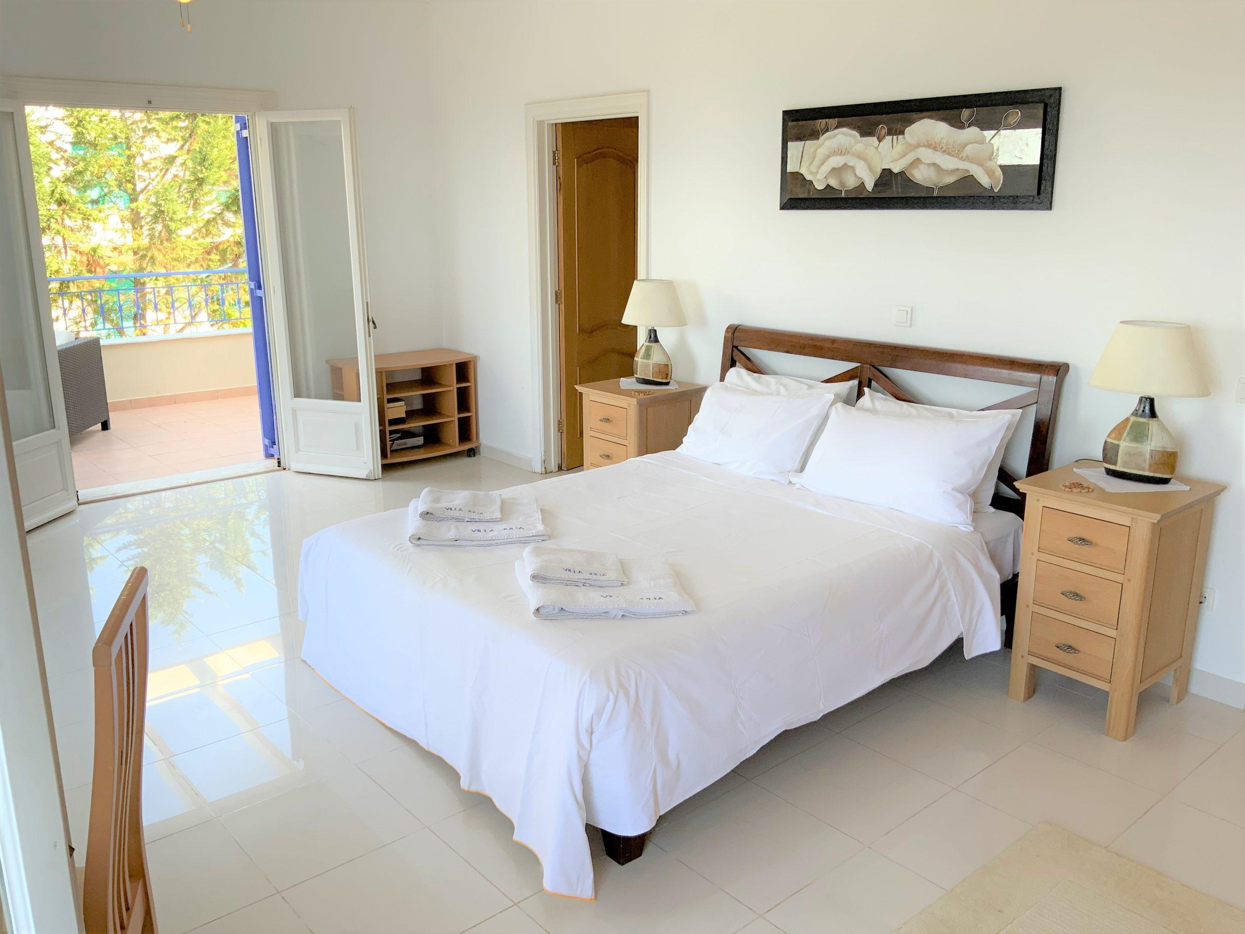 master bedroom, private villa